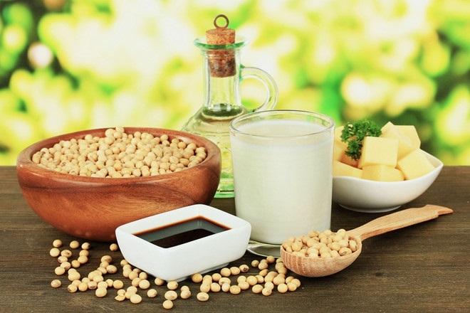 Các thực phẩm từ đậu nành
