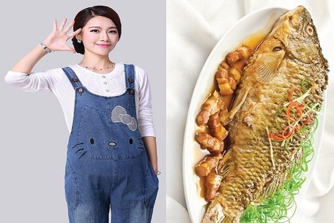 giá trị dinh dưỡng của cá chép với bà bầu