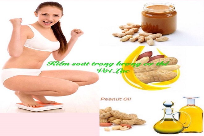 giảm cân siêu tốc sau sinh với đậu phộng