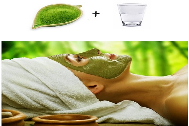 Làm đẹp sau sinh với bột trà xanh và nước