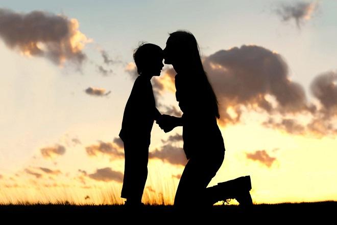 làm mẹ đơn thân tình yêu với con cái