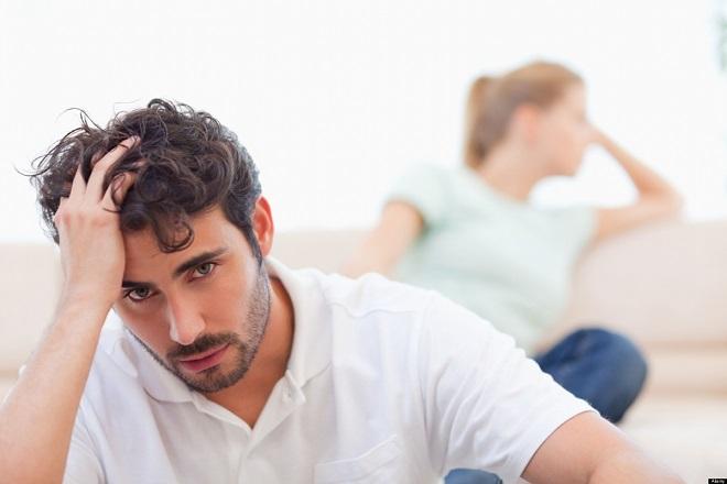 nam giới lo lắng