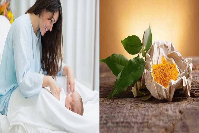 nghệ là thảo dược tốt cho phụ nữ sau sinh