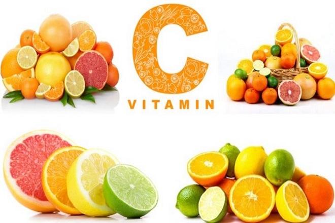 sau sinh nên ăn hoa quả tươi như cam, quýt, bưởi