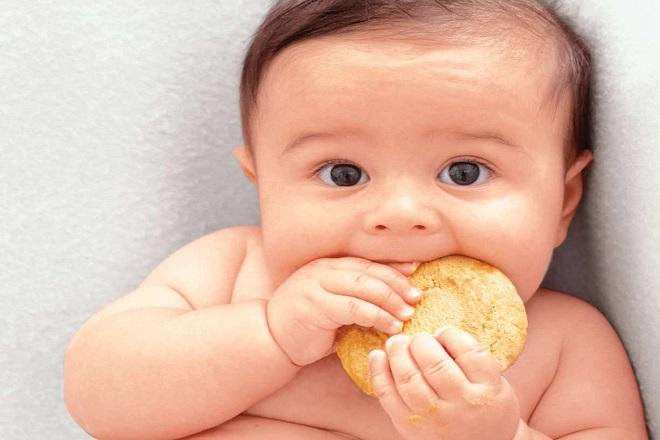 bánh ăn dặm cho bé 1 tuổi
