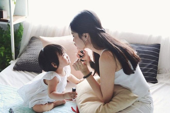 mẹ đơn thân nuôi dạy con