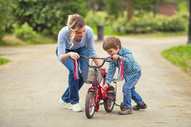 mẹ đơn thân dạy con trai