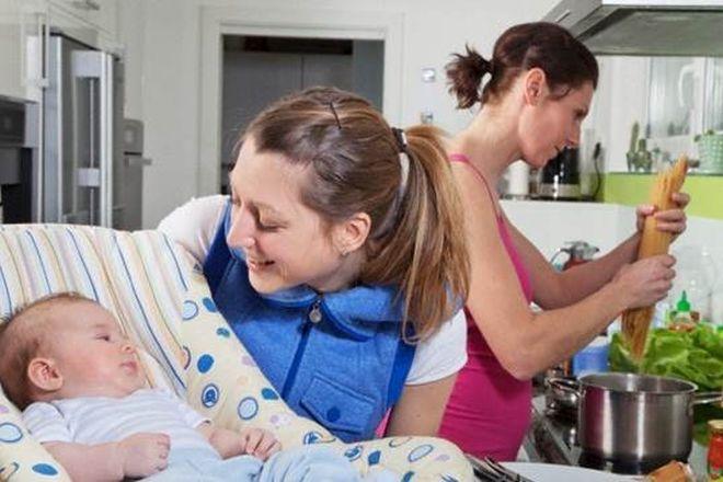 mẹ đơn thân cần nhờ người giúp đỡ