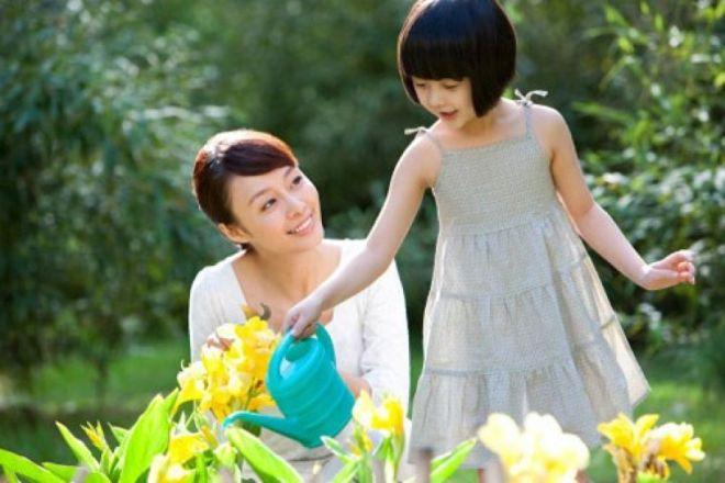 cách dạy con của mẹ đơn thân