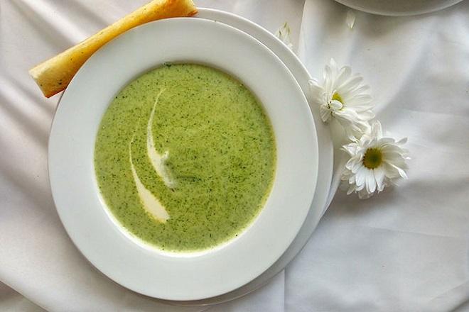 Món súp lạnh đậu xanh