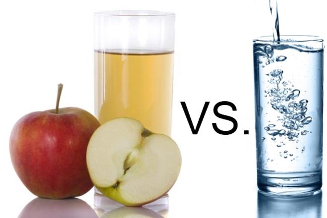 trái cây và nước
