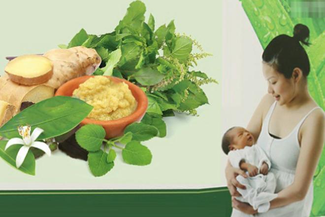 xông hơi giúp phục hồi sức khỏe sau sinh