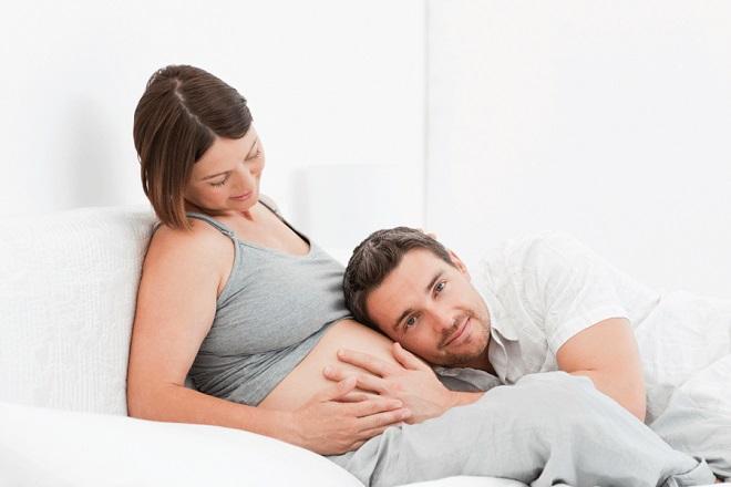 3 tháng cuối thai kỳ bà bầu giảm ham muốn tình dục