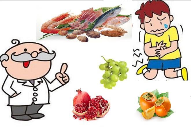 thực phẩm kỵ nhau gây ngộ độc thức ăn