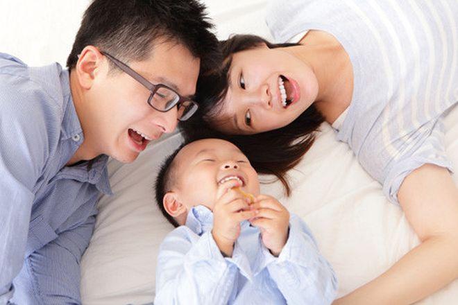 gia đình hạnh phúc