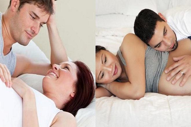 bà bầu mang thai 3 tháng cuối nên quan hệ tình dục nhẹ nhàng