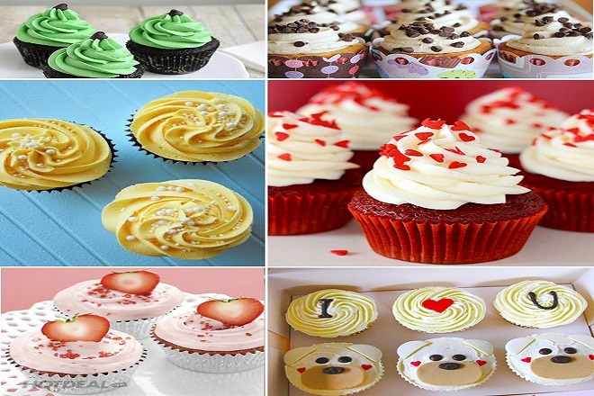 cách làm bánh cupcake