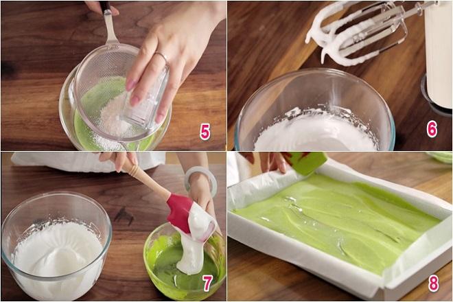 cách làm bánh mousse trà xanh chuẩn ngon