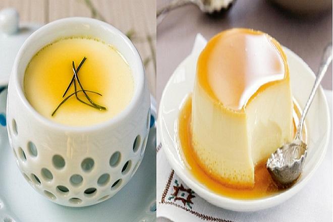cách làm bánh pudding trứng đơn giản