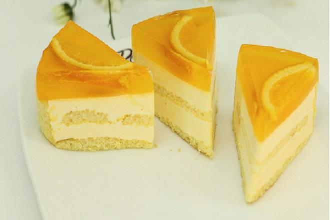 cách làm món bánh mousse cam