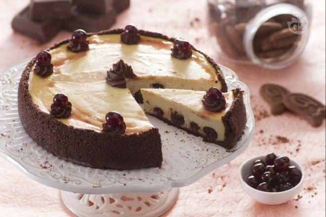 công thức làm bánh cheesecake anh đào