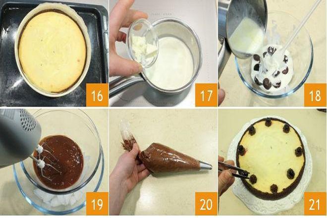 công thức làm bánh cheesecake ngon bước 7-8