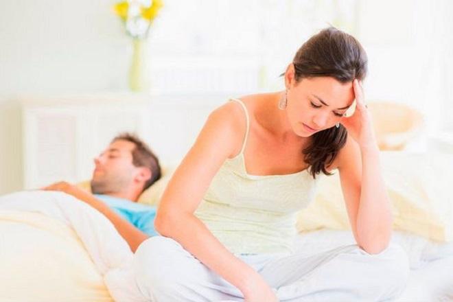 Đau đớn khi quan hệ vợ chồng