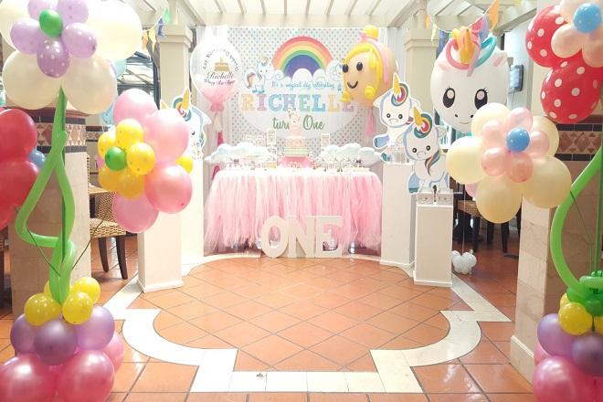 tiệc sinh nhật cho bé