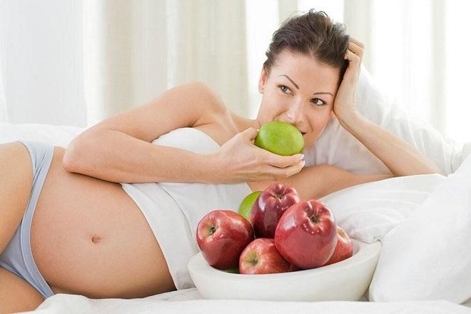dinh dưỡng khi mang thai tuần 30