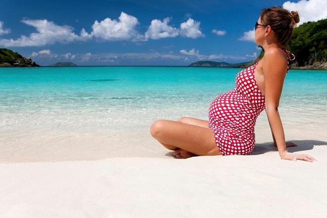 du lịch nghỉ dưỡng khi mang thai