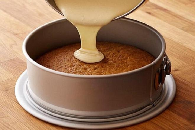 học làm món bánh cheesecake dâu tây