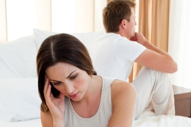 vợ chồng giận dỗi nhau