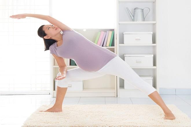 hướng dẫn bài tập thể dục cho bà bầu 4 tháng đúng cách