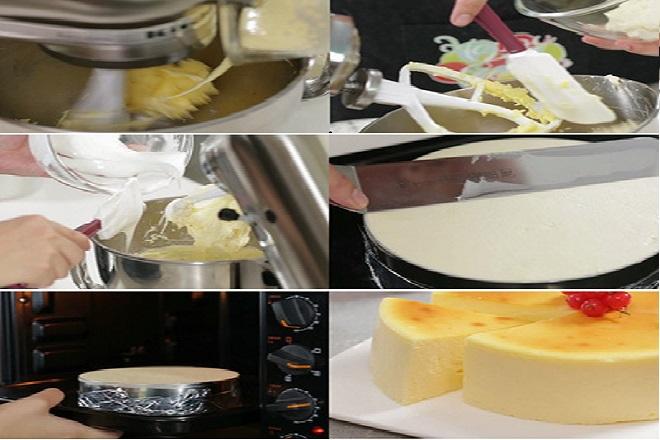 hướng dẫn công thức làm cheesecake