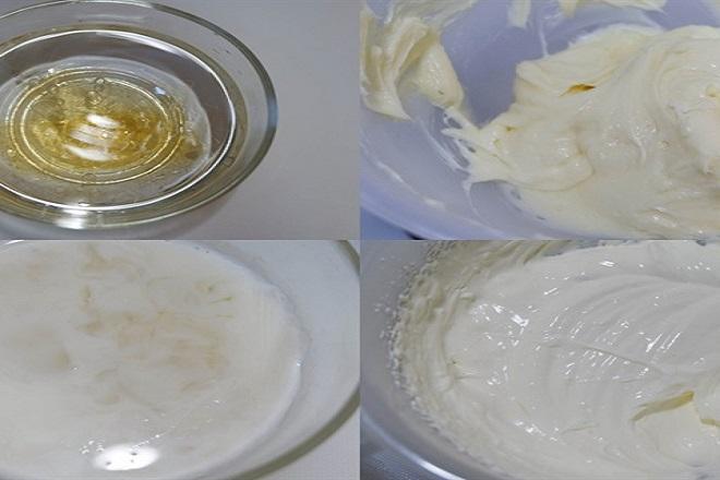 hướng dẫn làm bánh mousse kem phô mai trà xanh bước 1