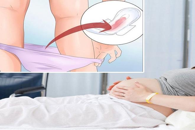 Kết quả hình ảnh cho quan hệ ra máu khi mang thai
