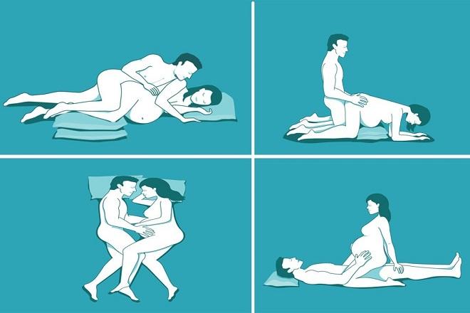 quan hệ khi mang thai không ảnh hưởng tới thai kỳ
