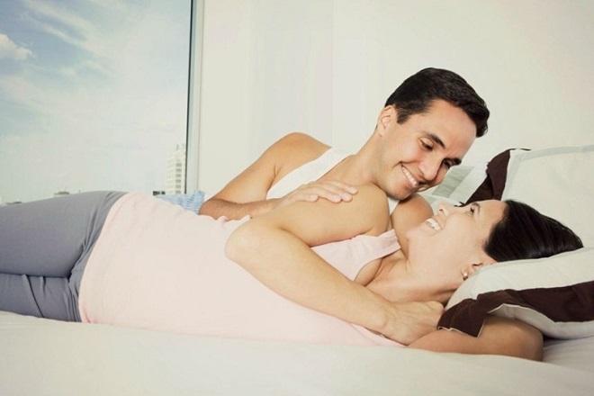quan hệ tình dục khi mang thai 5 tháng mang lại nhiều lợi ích cho mẹ và bé