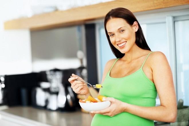 siêu âm thai có được ăn không