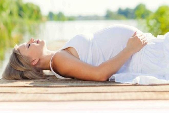 thư giãn khi mang thai