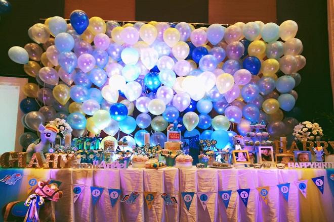 tiệc sinh nhật cho trẻ em
