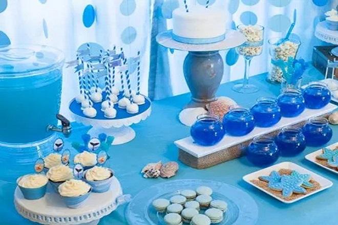 Trang trí sinh nhật cho bé trai theo phong cách hóa học