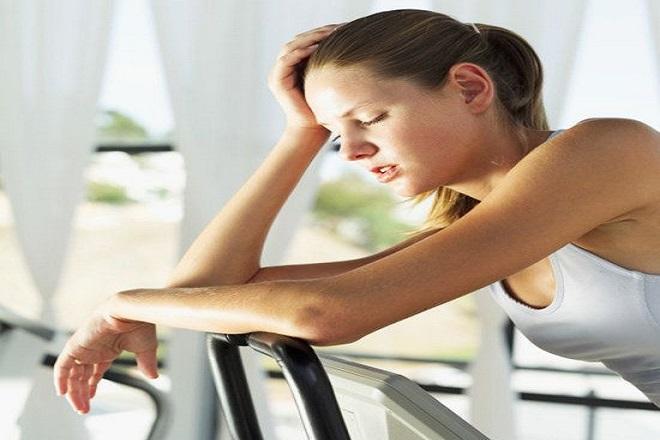 tránh tập luyện thể dục kiệt sức trong 3 tháng giữa thai kỳ
