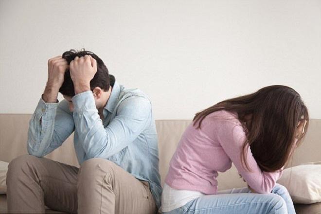 vợ chồng ly hôn