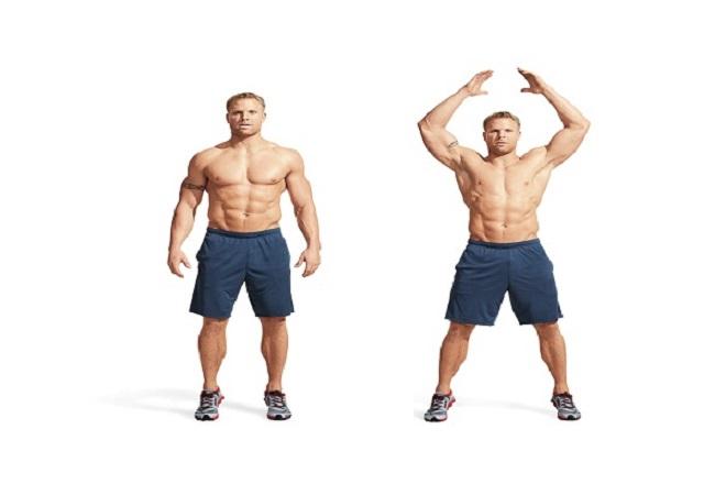 Bài tập squat cho nam tại nhà