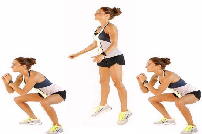 bài tập squat đơn giản