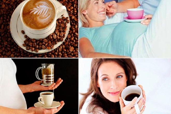 bà bầu tuần 21 nên hạn chế dùng thức uống caffein