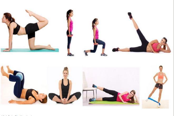 thể dục giảm cân sau sinh