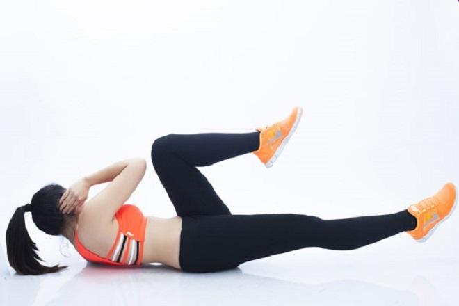 thể dục giảm cân sau sinh mổ
