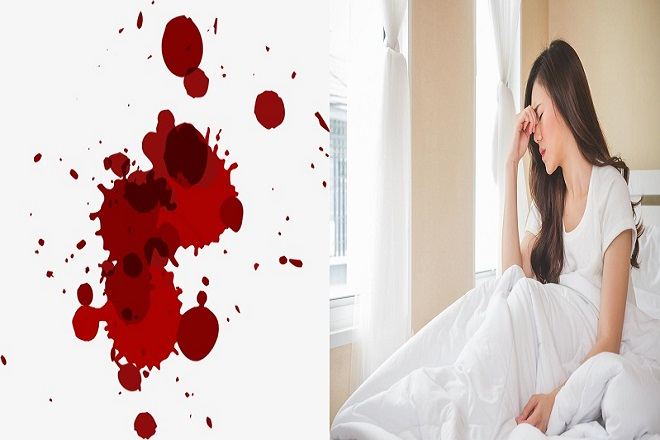 băng huyết sau khi dùng thuốc phá thai có kèm dấu hiệu chóng mặt